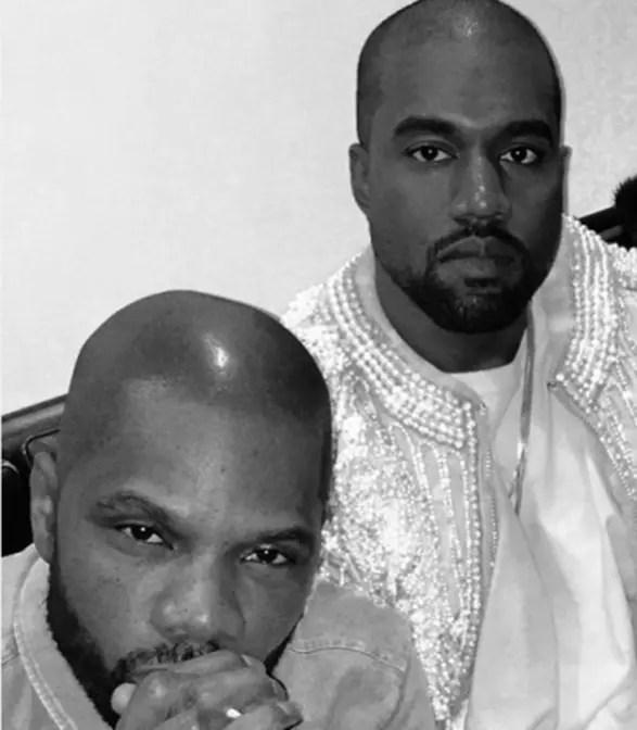Kanye, Kirk Franklin