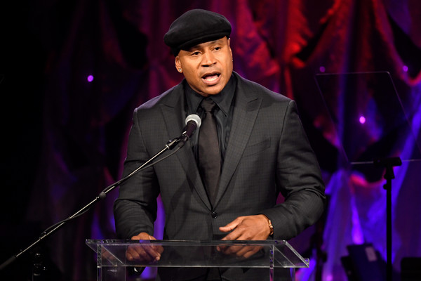 LL Cool J speaks onstage during the Pre-GRAMMY Gala and GRAMMY Salute to Industry Icons Honoring Clarence Avant at The Beverly Hilton Hotel on February 9, 2019 in Beverly Hills, California. (Feb. 8, 2019 - Source: Frazer Harrison/Getty Images North America)