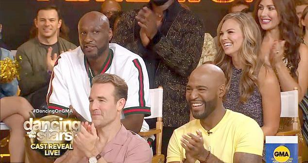 DWTS - lamar odom james vanderbeek karamo brown