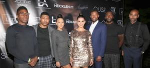 Love to Listings (L-R) Andrew Clinkscale, Jacob Knight, Taylor Schwatz, Samantha Barretto, Erike Miles1- GettyImages-1165047764