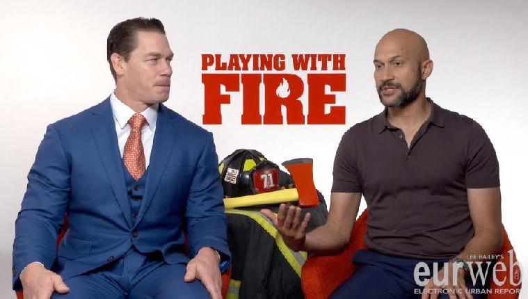 Keegan Michael Key John Cena Playing With Fire Eur