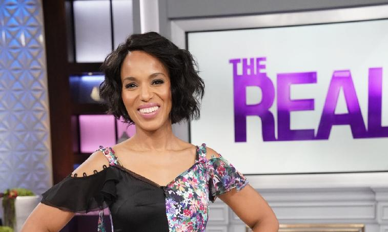 THE REAL Welcomes Everyone's Favorite 'Gladiator' Kerry Washington! – WATCH - Eurweb.com