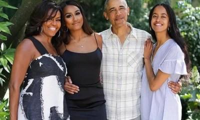 Obama family 2019 (michelle Sasha Barack Malia via Twitter)