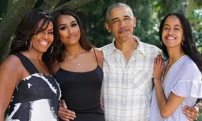 Obama family 2019 (michelle Sasha Barack Malia (Twitter))
