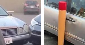 Popeyes - Mercedes Benz incident in LA