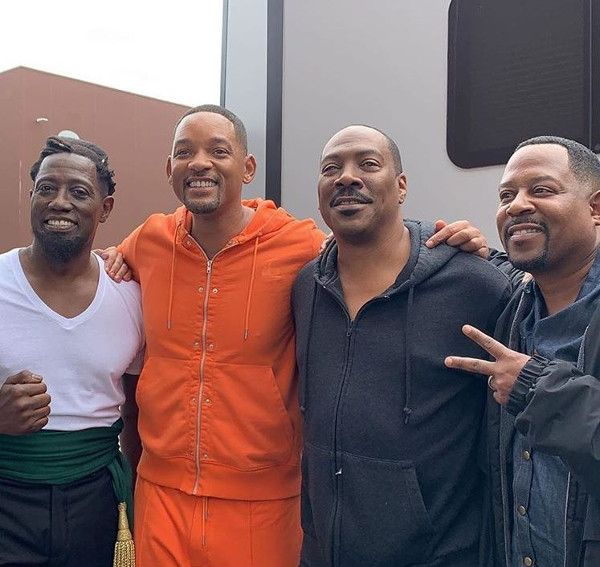 Wesley Snipes - Will Smith - Eddie Murphy - Martin Lawrence (Instagram)