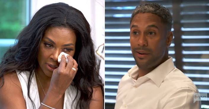 Kenya Moore's Husband (Marc Daly) Says 'Everybody' Knows He Hates Marriage – VIDEO