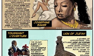 Our Roots - Josephine Baker - L'overture - Lion of Judah