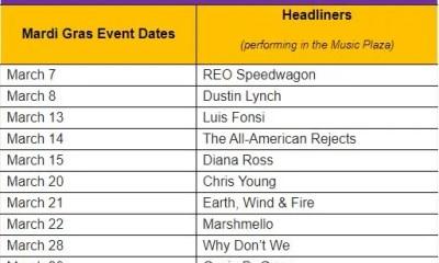 2020 Mardi Gras - Universal Orlando