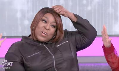 Loni Love (pulling wig off) - screenshot