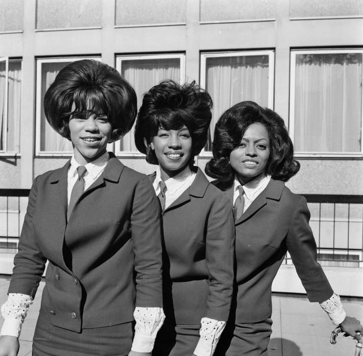 The Supremes in London