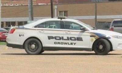 Crowley police dept