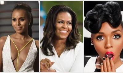 kerry washington , michelle obama, janelle monae