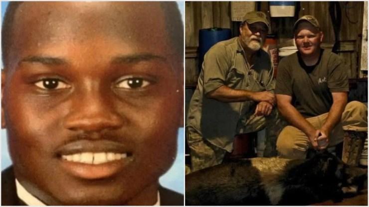 two murderers of #AhmaudArbery