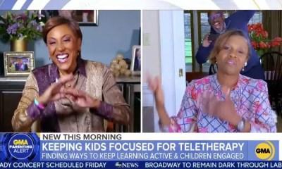 Robin Roberts, Deborah Roberts and Al Roker on GMA (05-13-20)