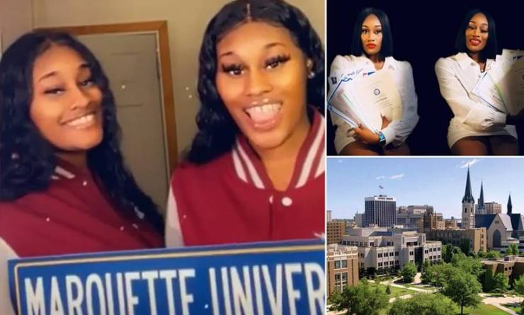 Milwaukee twin sisters accepted into 38 schools