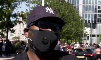 Black Londoner supports George Floyd protestxplains George Floyd protester support with explanation of how cops murdered his brother