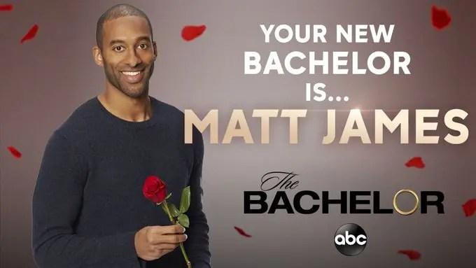 Matt James is new new bachelor