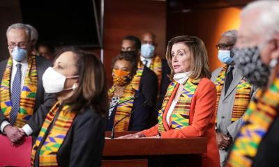 Nancy Pelosi & Democrats - kinte cloth