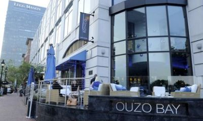 Ouzo Bay restaurant in Baltimore