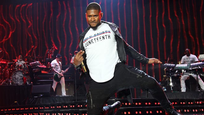 Usher - Juneteenth - wireimage/getty