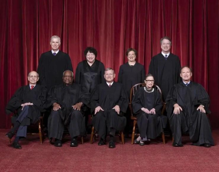 2020 US Supreme Court Justices