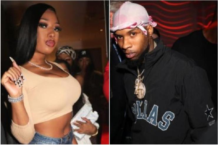 Megan Thee Stallion & Tory Lanez (Getty)