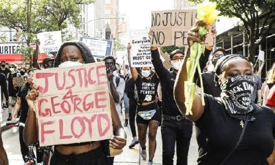 black people protesting1 - GettyImages_1216238789