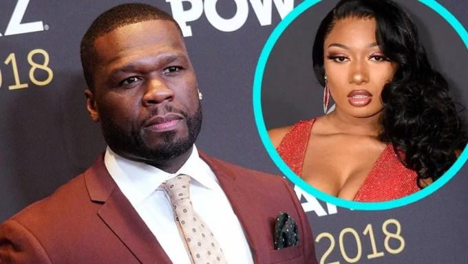 50 Cent, Megan thee stallion