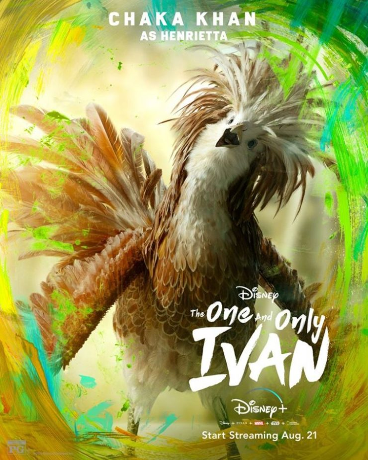 Chaka Khan - The-One-and-Only-Ivan-Character-Posters-4