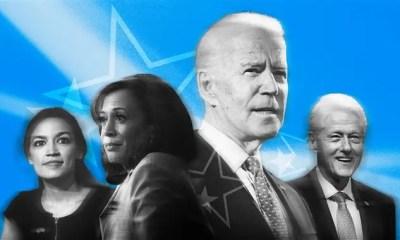DNC 2020 - AOC-Harris-Biden-Clinton