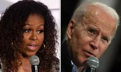 Michelle Obama & Joe Biden (Getty)