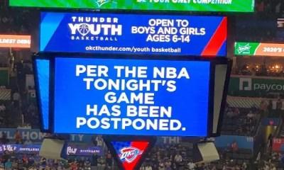 NBA Games postponed1