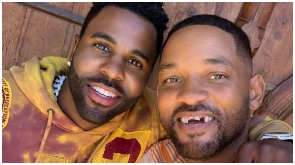 Fans Convinced Jason Derulo Knocked Out Will Smith's Teeth While Playing Golf [VIDEO]
