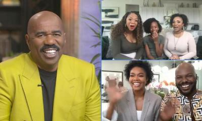 Steve Harvey - Gabrielle Union & Hair episode