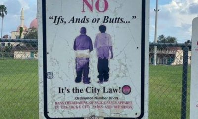 saggy pants sign florida- twitter