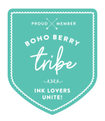 BohoBerry tribe Badge
