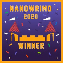 NaNoWriMo 2020 winner badge