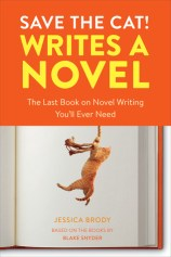 Book cover - Save the cat writes a novel