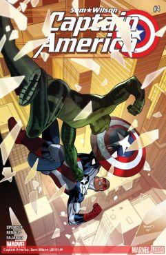 Captain America: Sam Wilson #4 cover by Paul Renaud (Photo Credit: Marvel)