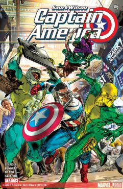 Cover by Romulo Fajardo (Photo Credit: Marvel)