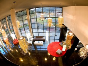 Hall del Hotel Gran Bilbao