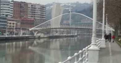 Arrestado en Bilbao por agredir a su pareja en plena calle,