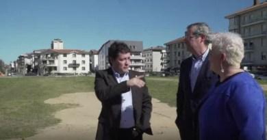 #VIDEO: Parking disuasorio de Aritzeta,