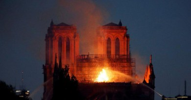 El Lehendakari muestra su pesar tras el incendio de Notre Dame,