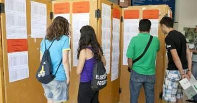 Se produce un fallo en la confección de las listas provisionales de varios institutos vascos,