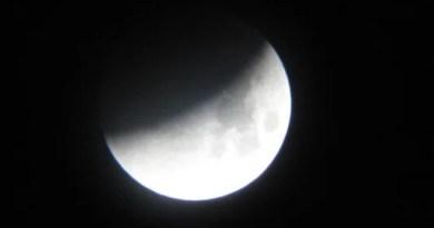 Vitoria disfrutará esta noche de un eclipse parcial de Luna,