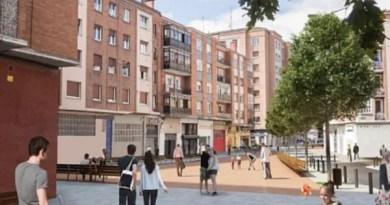 Comienza la reforma de la calle Médico Tornay en Vitoria-Gasteiz,