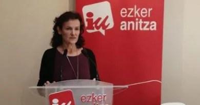 Salud critica el discurso de fin de año del Lehendakari porque se dirige sólo a las élites económicas vascas,
