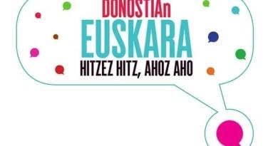 Hitzez hitz, ahoz aho «El Día del Euskera» en Donostia:,